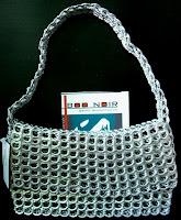 bolsos originales reciclados de anillas Boo Noir