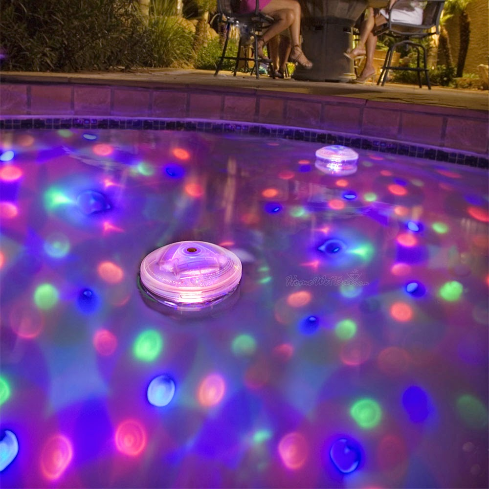 The Awesome Pool Decorations Water Light Picture