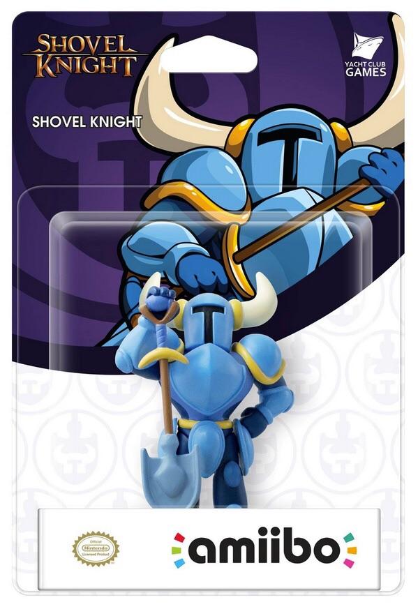 Shovel Knight amiibo announced