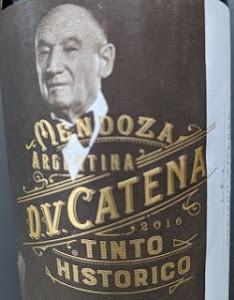 Notre vin de la semaine est cet excellent rouge argentin de la maison Catena !