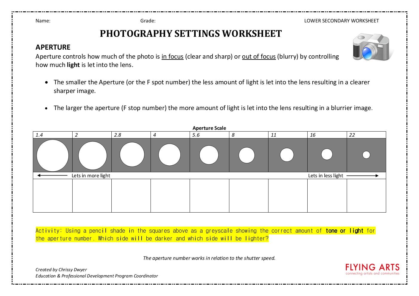Photography Merit Badge Worksheet BossChens – Photography Merit Badge Worksheet