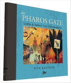 http://www.amazon.com/Pharos-Gate-Griffin-Sabines-Correspondence/dp/1452151253/ref=sr_1_1?s=books&ie=UTF8&qid=1454535089&sr=1-1&keywords=nick+bantock