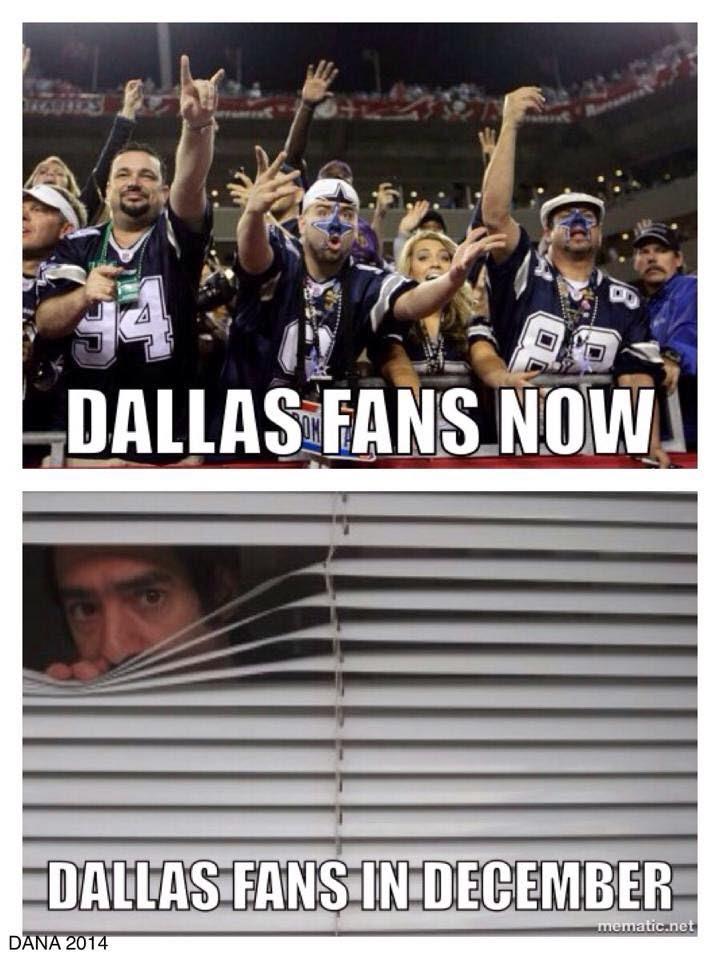 dallas fans now. dallas fans in december