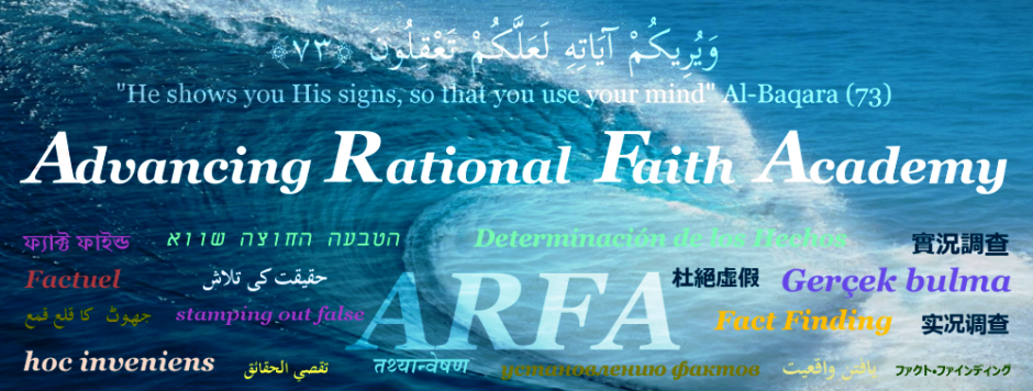 Advancing Rational Faith Academy (ARFA)