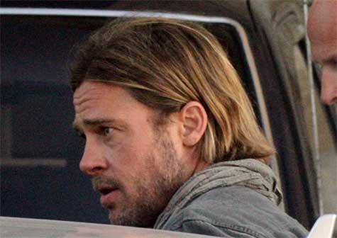 Brad pitt hair world war z