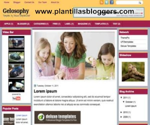 plantillas blogger Gelosophy
