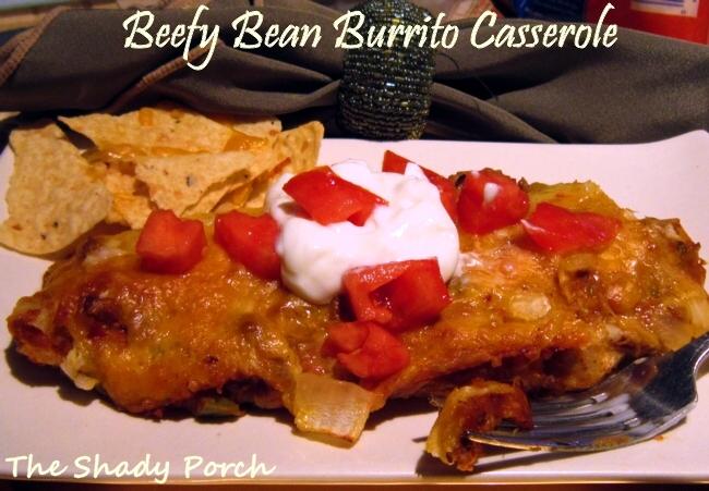 Beefy Bean Burrito Casserole #casserole #recipe #Mexican #easy