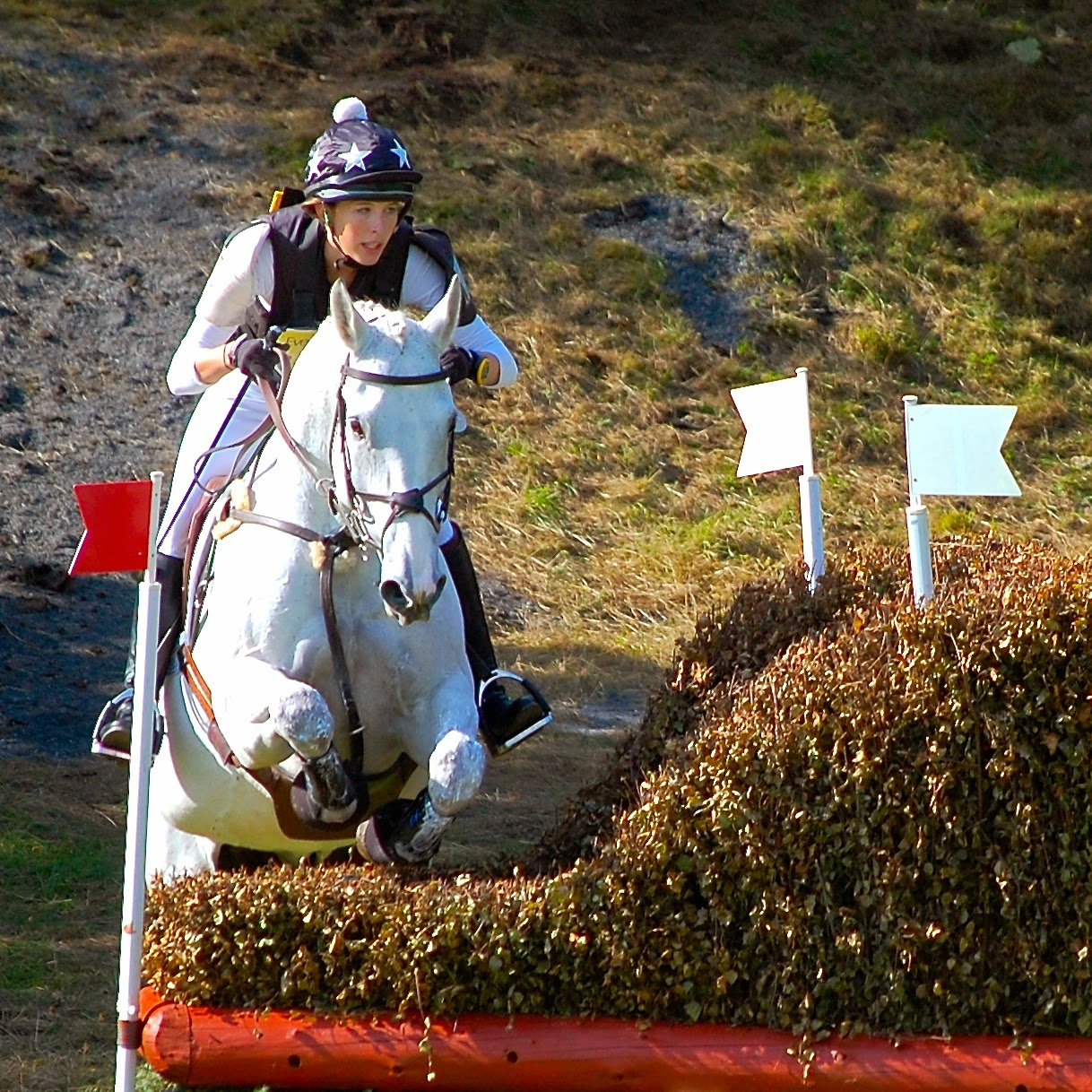Cross country at the Blair Castle International Horse Trials