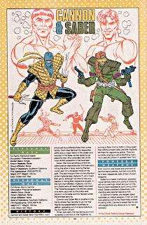 Cannon y Saber (ficha dc comics)