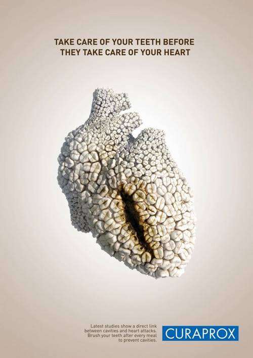 Impressive healthcare advertising creating impact