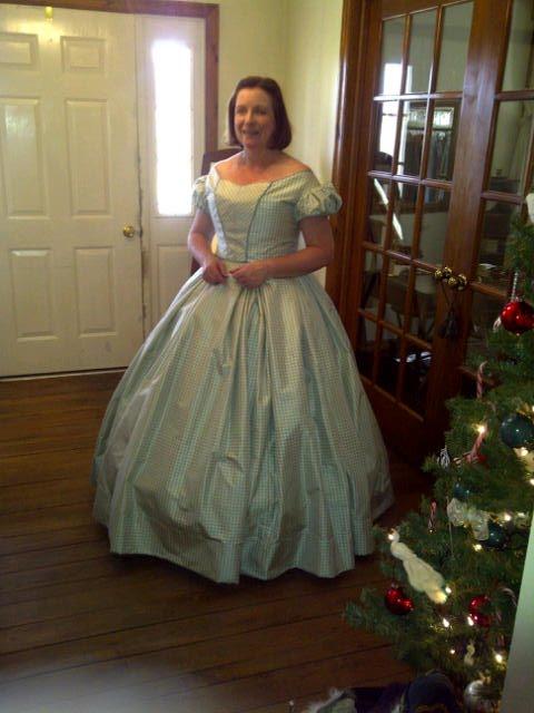 Sycamore Springs Clothier: CIvil War Era Simple Ball Gown ...
