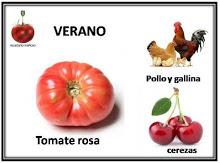 Verano'16: Tomate rosa de Barbastro, Pollos/Gallinas y Cerezas