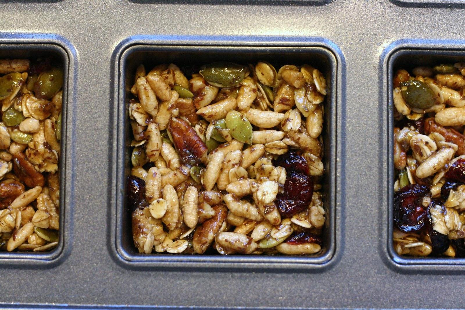 Laine's Recipe Box: Cranberry-Pumpkin Seed Energy Bars