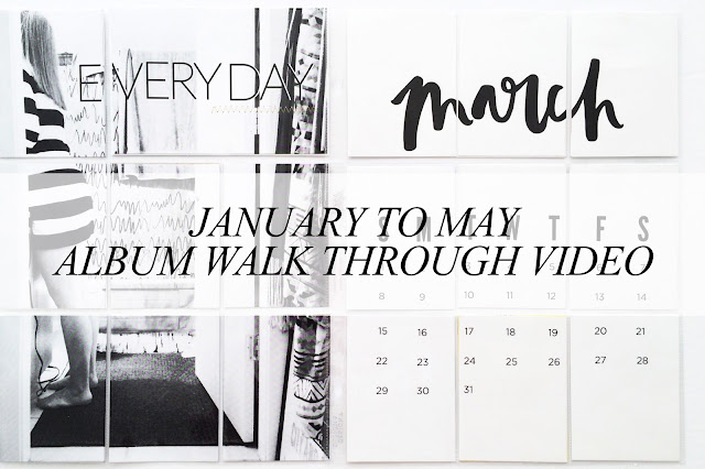 tracyxo; January to May: Album Walk Through Video