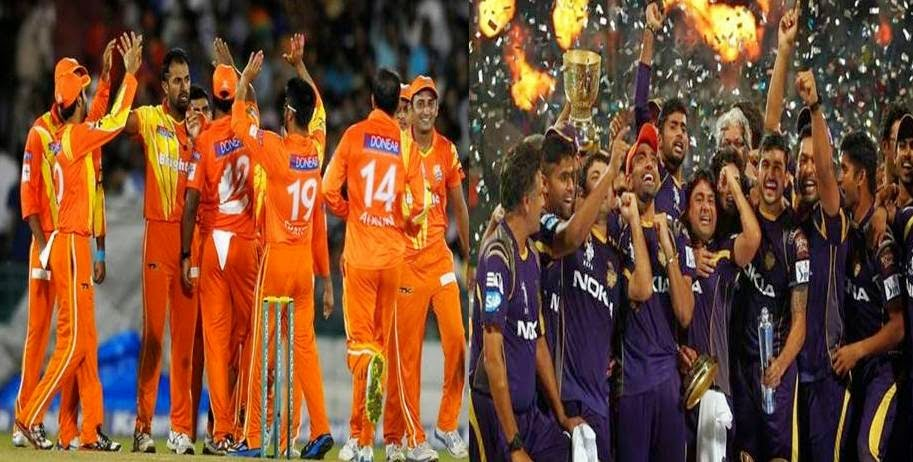 Kolkata Knight Riders vs Lahore Lions Live Score and Online Streaming CLT20 2014