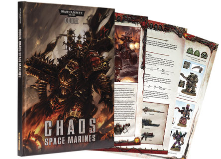 The Chaos Marine Codex is Official: and a Limited Edition