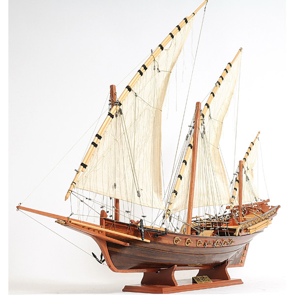 Xebec Model Ship