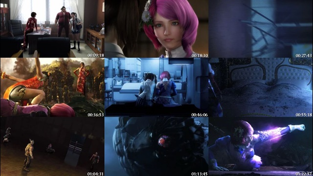 Tekken Blood Vengeance 3D (2011) DVDRip Subtitulos Español Latino