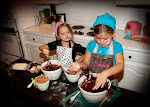 Dotty and Presley Cooking