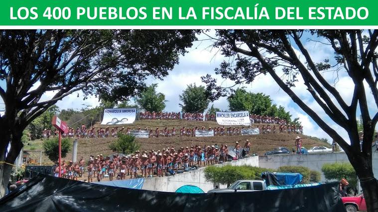 LOS 400 PUEBLOS EN LA FISCALÍA DEL ESTADO
