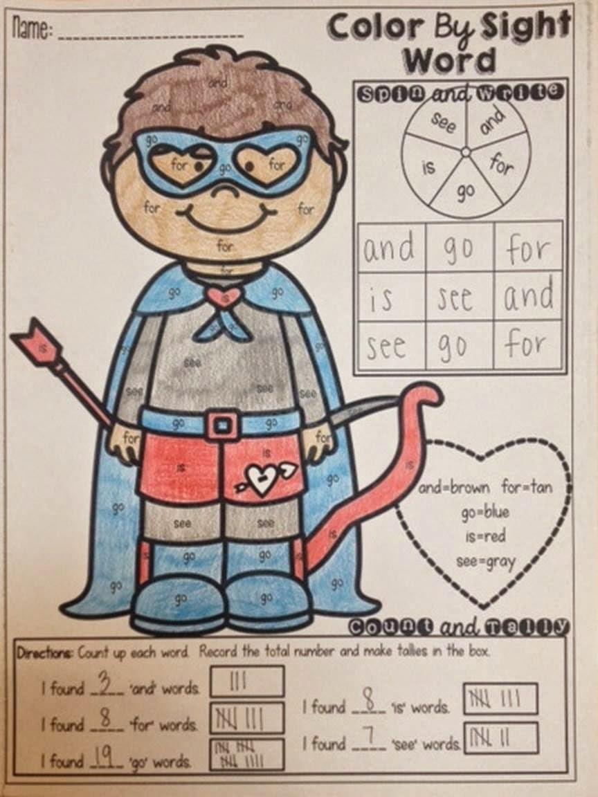 The Best of Teacher Entrepreneurs Language Arts  Color by Sight