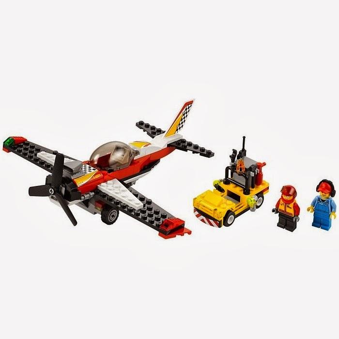 Lego City Stunt Plane 60019 My Lego Style
