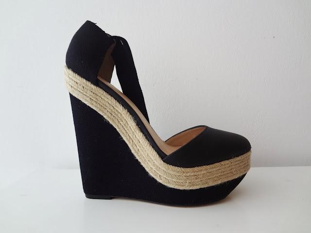 espadrille wedge sandals by ZARA