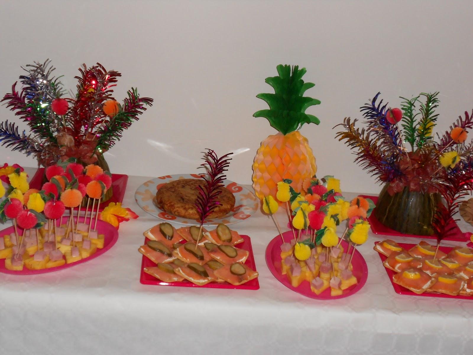 mis recetas comida hecha en casa  fiestas hawaianas   CELEBRA TUS