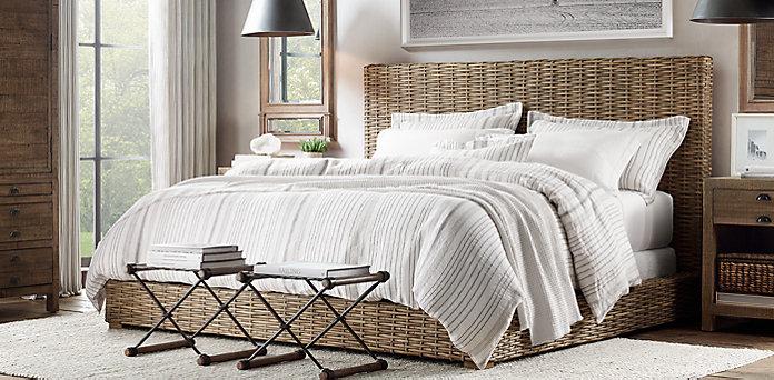 Estilo rustico cabeceros de camas en estilo rustico - Cabeceros de cama rusticos ...