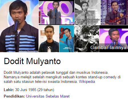 Stand Up Comedy Dodit Mulyanto Terbaik