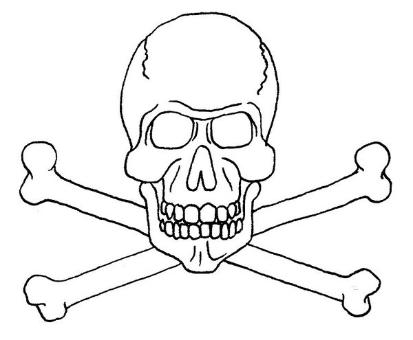 jolly roger  free printable