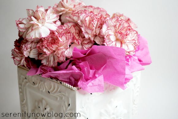 Simple Party Centerpiece Idea (5 Minutes or Less), from Serenity Now