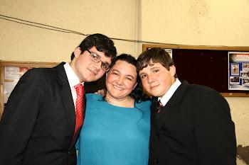 Nossos Amados Filhos, Daniel e Matheus!