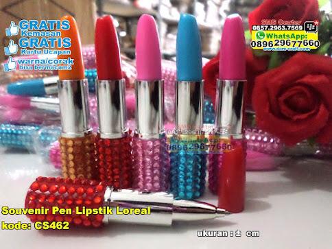 Souvenir Pen Lipstik Loreal grosir