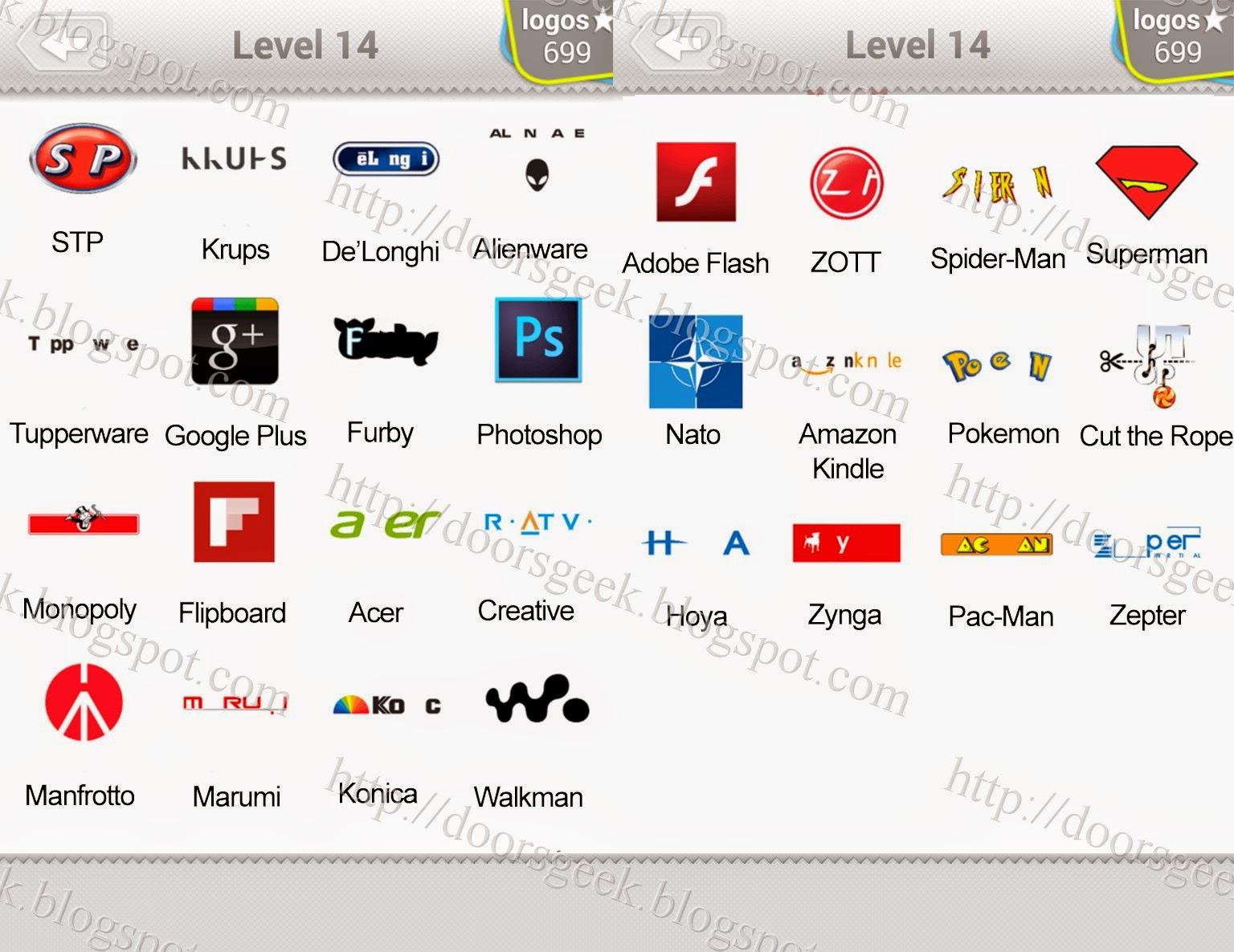 Logos Quiz Level 6 Answers  Logo Quiz Game Answers