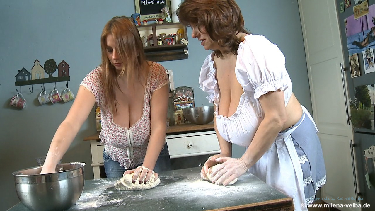 nadine dough jansen velba kneading Milena