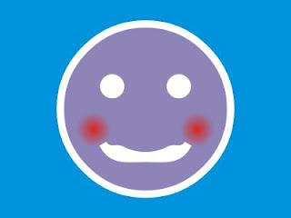 Emoticon com Vergonha (desenho)