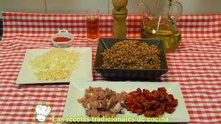 Receta fácil de lentejas con chorizo y jamón