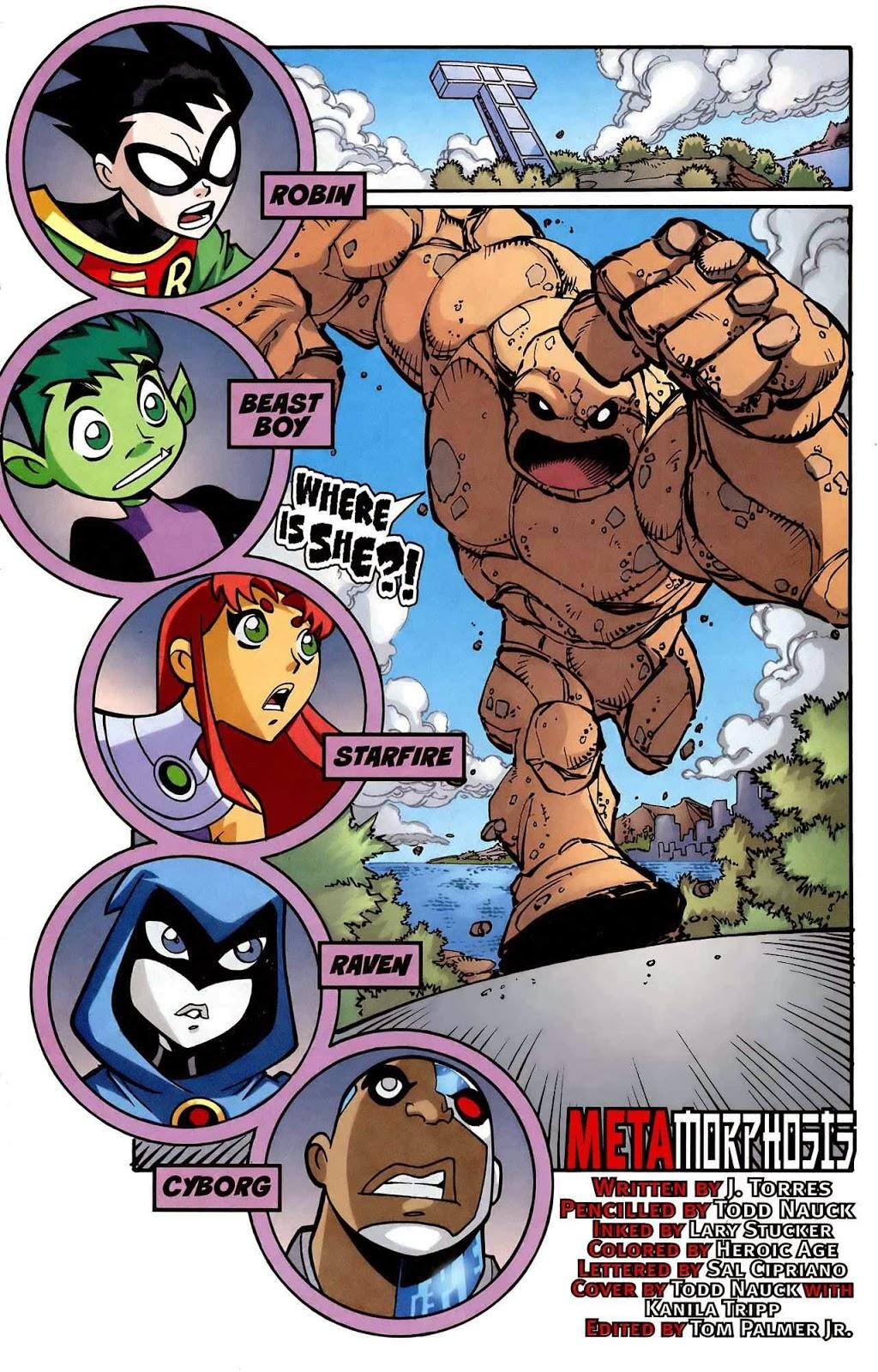 Teen titans go comic online — pic 11