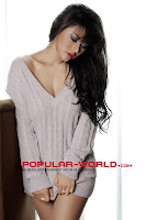Foto Vitalia Sesha di Majalah Popular