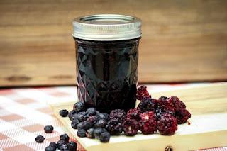 blueberry-blackberry-butter