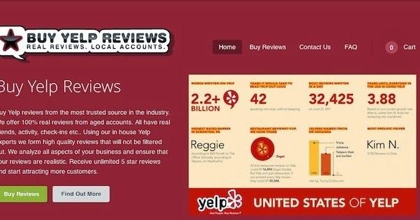 buy good yelp reviews
