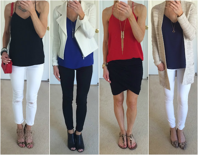 Express Barcelona Cami Outfits