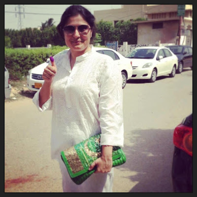 Sharmeen Obaid - Pakistan Celebrities voted for Pakistan