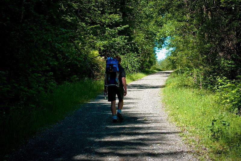 Mt. Washington trail -- pierwszy hike Jakosza..
