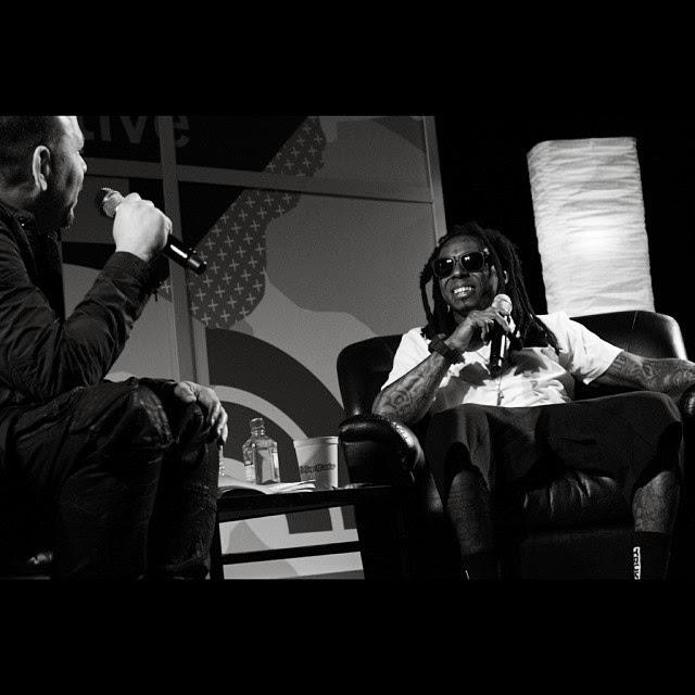 fotos de lil wayne y elliott wilson entrevista