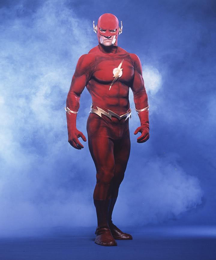 The Flash, Flash el relámpago humano, DC, John Wesley Shipp