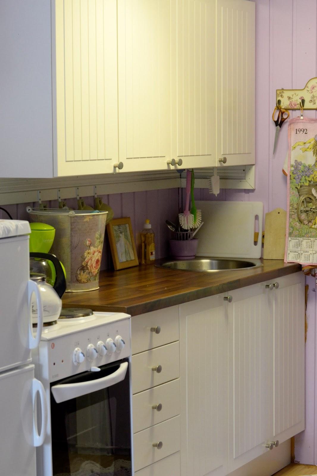 KOTOKOLOSSA Mökin keittiö ja historian havinaa