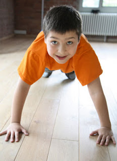 boy pushup