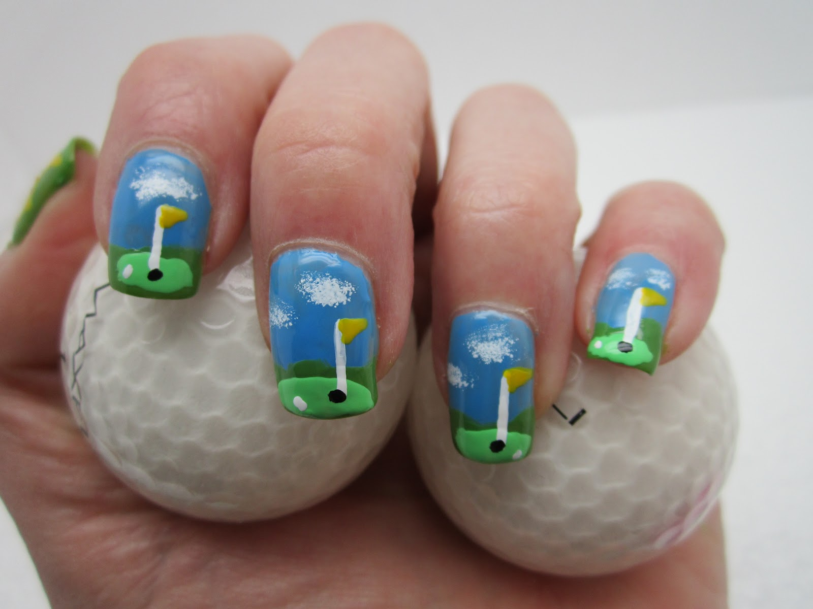 Creative Nail Design By Sue The Mastersgolf
